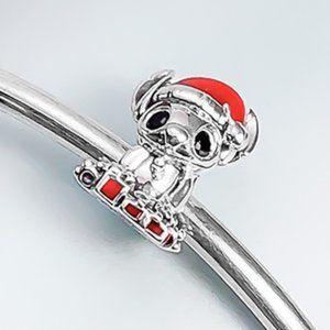 📿Pandora  Disney Stitch Christmas Charm